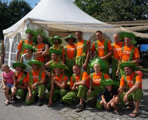Meykopff Garten- und Landschaftbau beim Drachenbootrennen