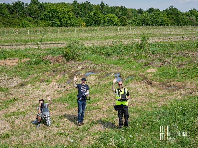 Meykopff Garten- und Landschaftsbau Drohnenflug Team