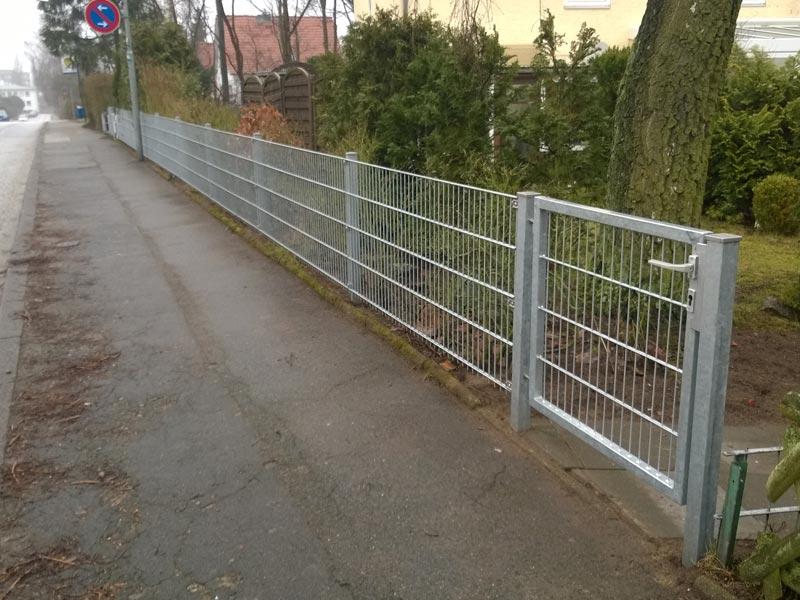 Zaunbau Lubeck Doppelstabmattenzaun Gunstig Und Stabil