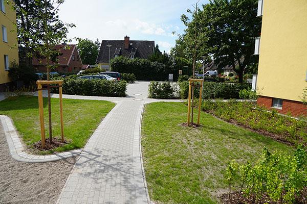 Meykopff Garten- und Landschaftsbau Huntenhorster Weg Gartenanlage