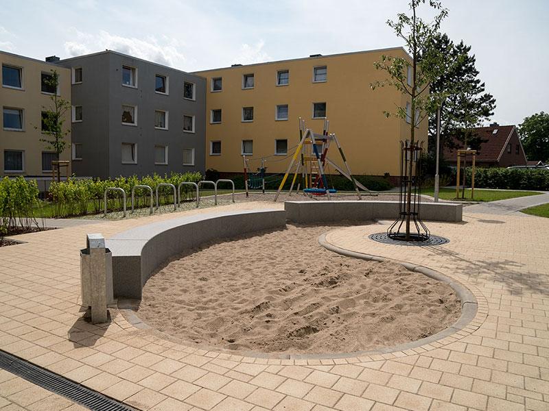 Meykopff Garten- und Landschaftsbau Huntenhorster Weg Sandkasten