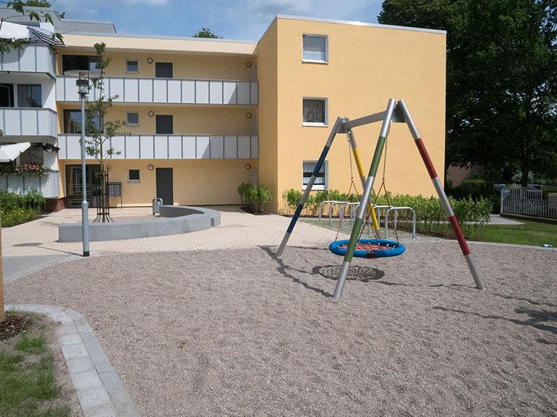 Meykopff Garten- und Landschaftsbau Huntenhorster Weg Nestschaukel