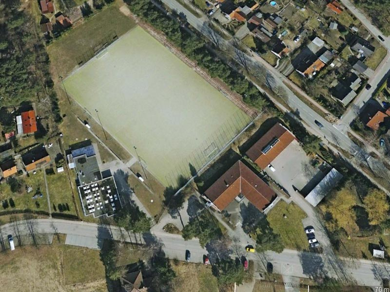 Groß Grönau Areal - Google Maps 2010