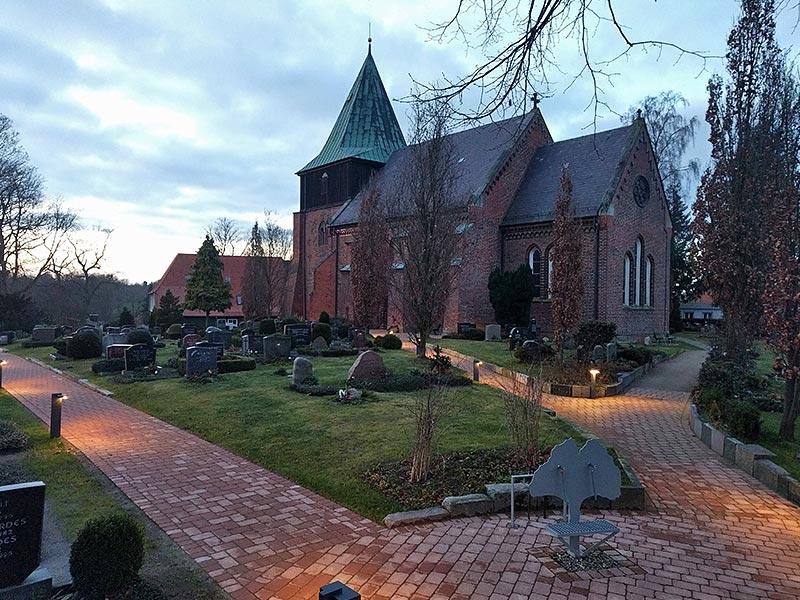 Meykopff GaLaBau Lübeck Pflasterarbeiten Kirche Krummesse