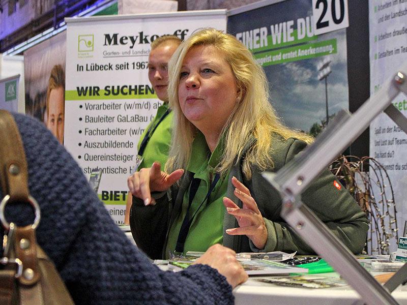 Meykopff-Infogespräch auf der Jobmesse Lübeck