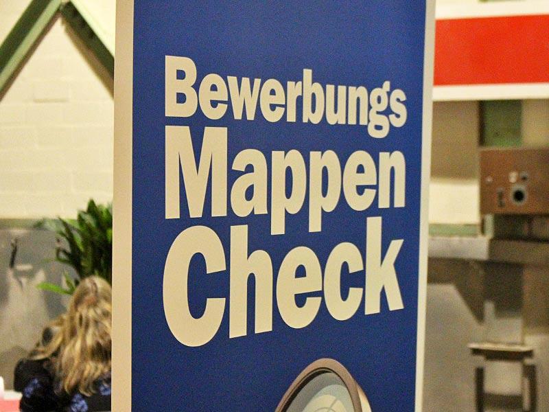 Jobmesse Lübeck - Bewerbungsmappen-Check
