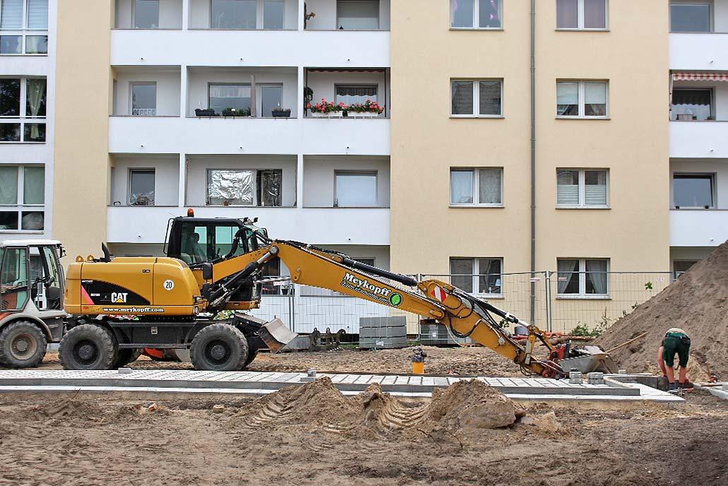 Meykopff GalaBau Lübeck - Pflasterarbeiten im Hertzweg