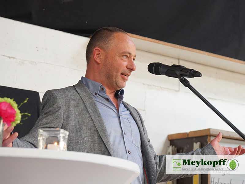 Meykopff Jubiläumsfeier Herr Stein