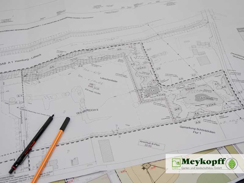 Meykopff-Galabau - Bauplan für das genaue Arbeiten