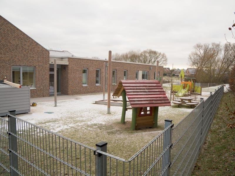 Meykopff Garten- und Landschaftsbau Zaunbau Kita Stockelsdorf