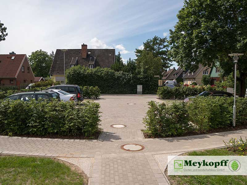Meykopff Garten- und Landschaftsbau Huntenhorster Weg Parkplatz