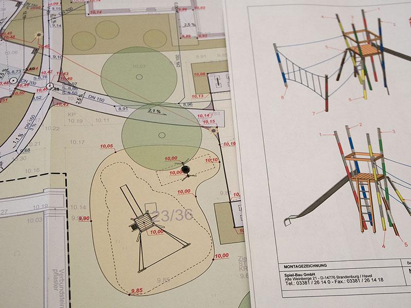 Meykopff Garten- und Landschaftsbau Huntenhorster Weg Spielplatz Bau