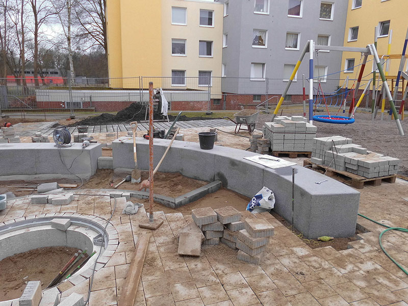 Meykopff Garten- und Landschaftsbau Huntenhorster Weg Spielplatzbau