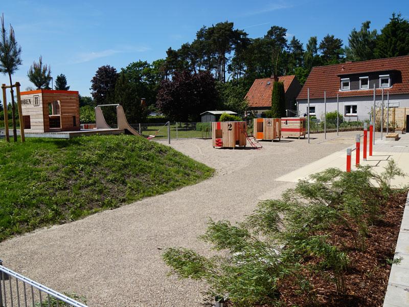 Meykopff Garten- und Landschaftsbau Einfriedung Spielplatz