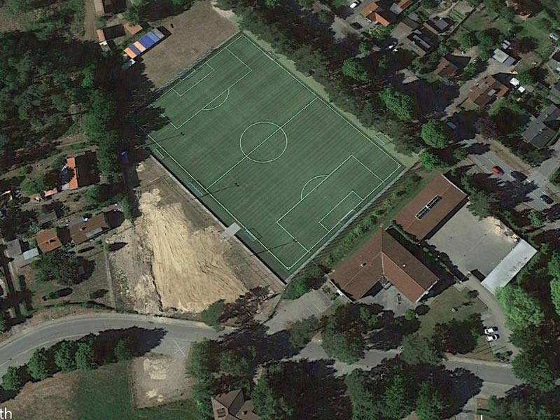 Groß Grönau Areal - Google Maps 2015