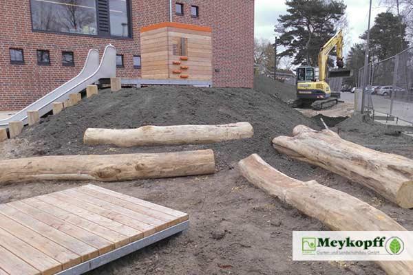 Meykopff Garten- und Landschaftsbau Baustelle Groß Grönau
