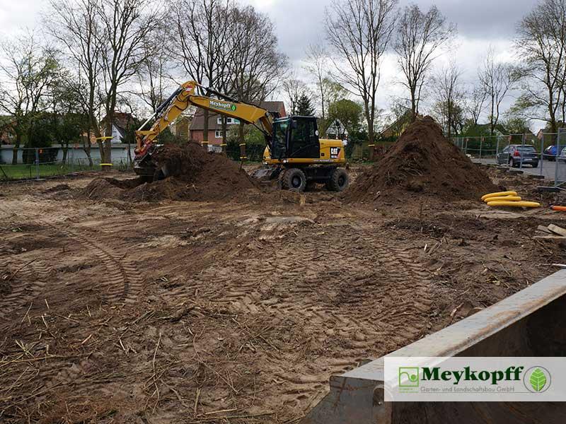 Meykopff GaLaBau Baustelleneinrichtung Schmiedekoppel