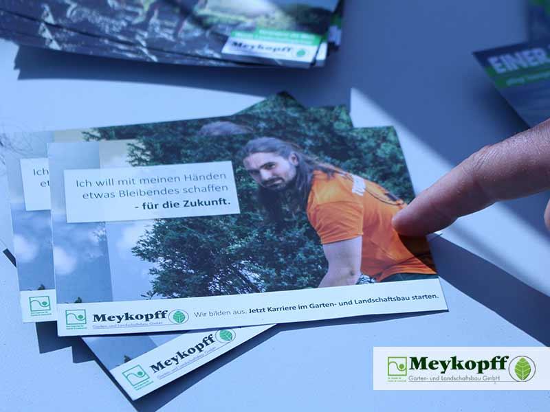 Meykopff Luebeck Garten Landschaftsbau Flughafen - Werbeflyer von Meykopff