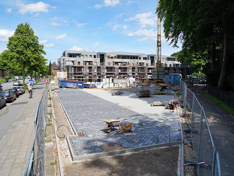 Meykopff GaLaBau Luebeck Luisenstrasse Pflasterarbeiten Parkplatz
