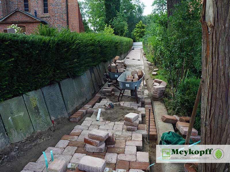 Meykopff GaLaBau Krummesse Pflasterarbeiten Wegebau