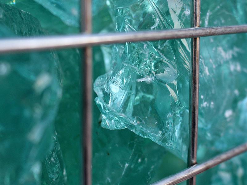 Meykopf Garten- und Landschaftsbau Lübeck Gabionen Glasbruch