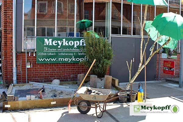 Der Meykopff-Gartenbau-Messestand