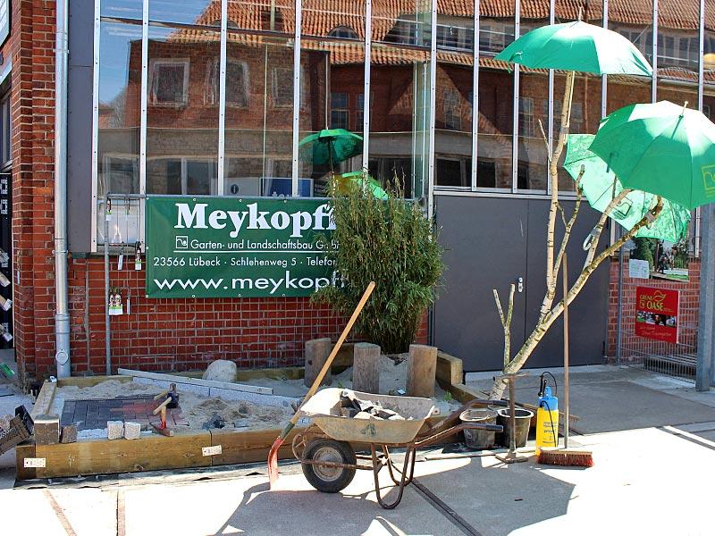 Meykopf Garten- und Landschaftsbau Lübeck Jobmesse Messestand