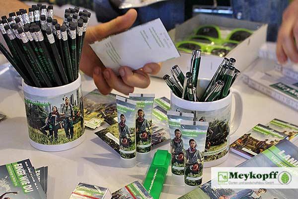 Der Meykopff Messestand auf der Jobmesse