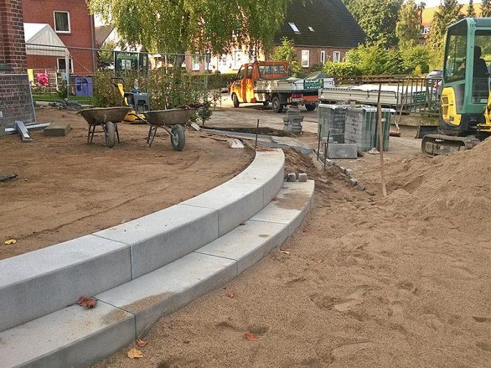 Meykopff Garten- und Landschaftsbau Lübeck Innenhof Kita Storchennest