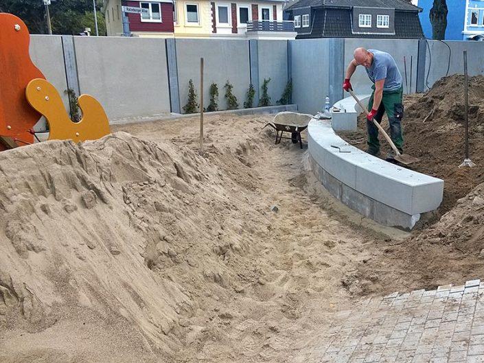 Meykopff Garten- und Landschaftsbau Lübeck Spielplatzbau Kita Storchennest