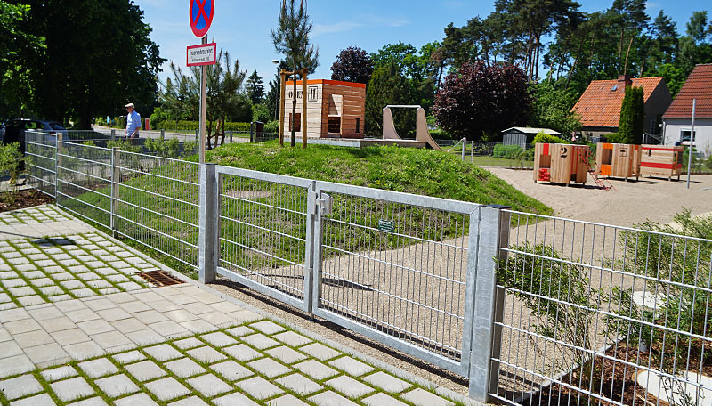 Meykopff Garten- und Landschaftsbau Lübeck Metallzaun