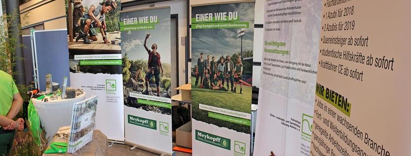 Meykopff Garten- und Landschaftsbau auf der Parentum Jobmesse