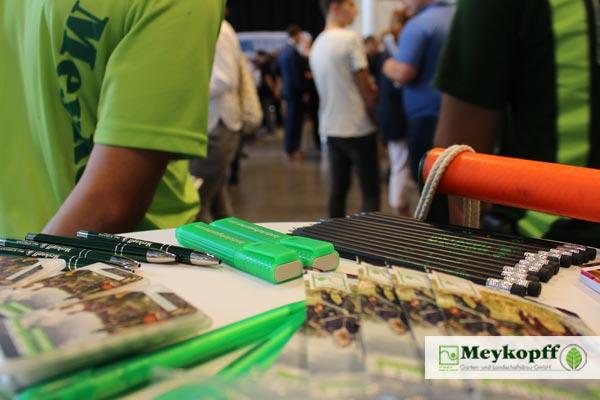 Werbeartikel: Meykopff GaLaBau auf der Parentum Jobmesse