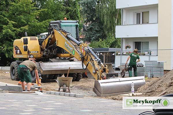 Meykopff GalaBau Luebeck Hertzweg Pflasterarbeiten