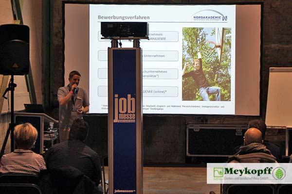 Fachvortrag auf der Lübecker Jobmesse