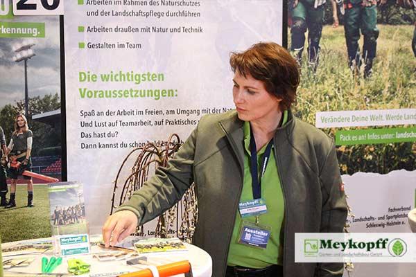 Meykopff GaLaBau Lübeck Messestand