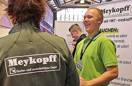 Meykopff GaLaBau Lübeck - unser Messeteam