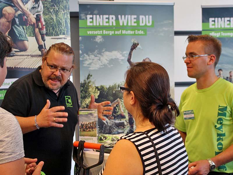 Meykopff Gartenbau Lübeck bei der Parentum Jobmesse