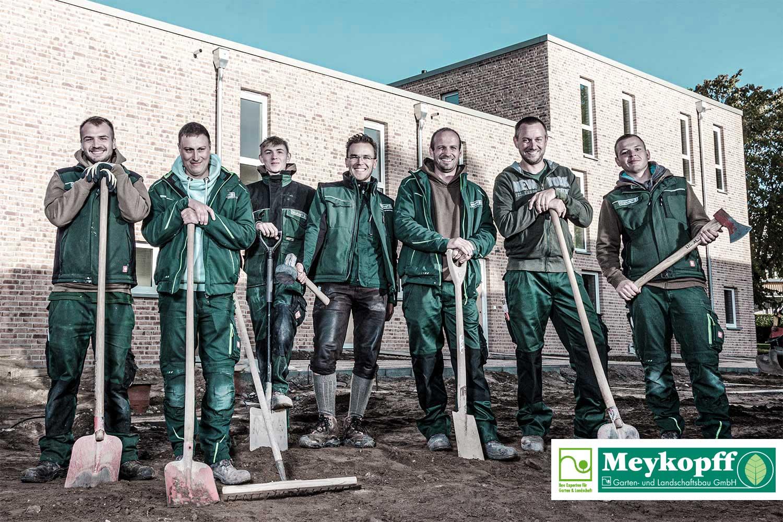 Meykopff GaLaBau Lübeck - unser Team