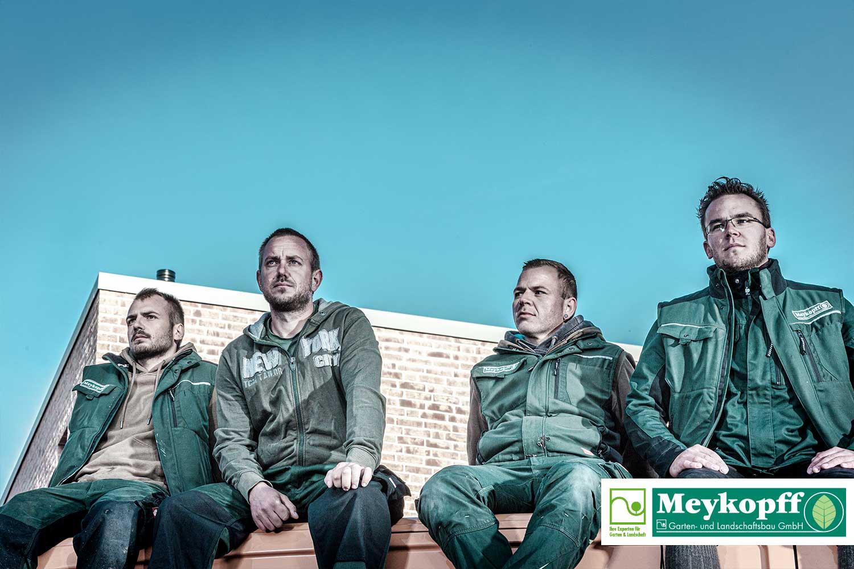 Meykopff GaLaBau Lübeck - Fotoshooting Team