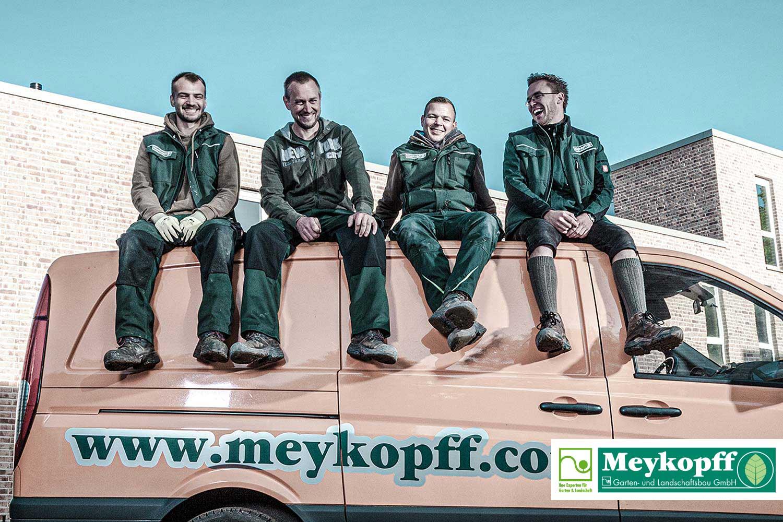 Meykopff GaLaBau Lübeck - stimmungsvolles Team