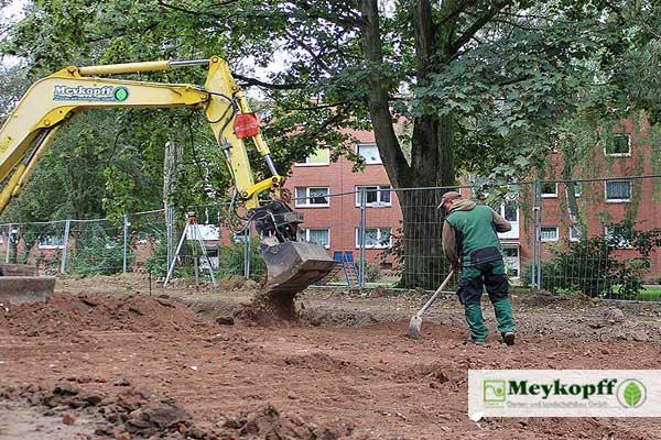 Meykopff GaLaBau Lübeck - Erdarbeiten