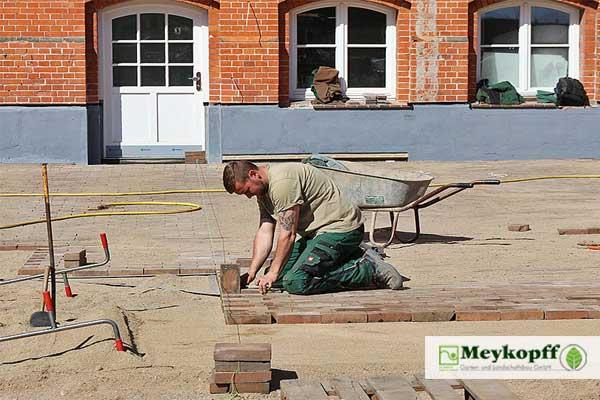 Meykopff GaLaBau Lübeck - Pflasterarbeiten