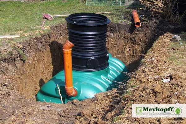 Meykopff Galabau Lübeck Regenwassertank
