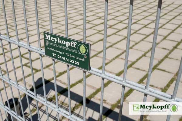 Meykopff Garten- und Landschaftsbau Zaunbau Metallzaun