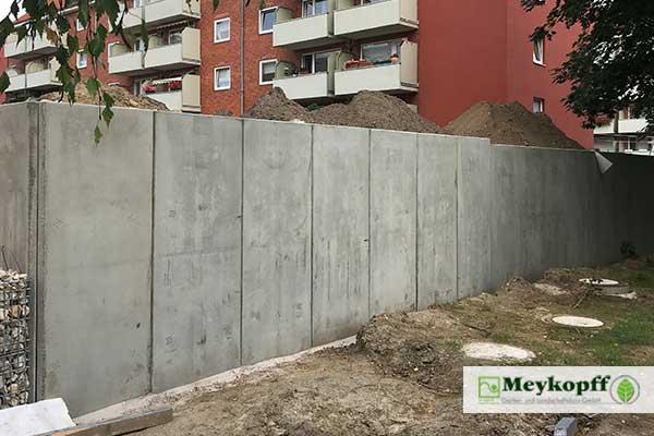 Meykopff GaLaBau Lübeck Winkelstützen